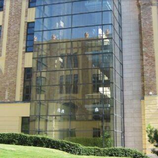 Prémium irodaház hővédelme